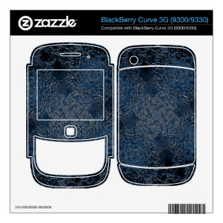 Rings of Ice BlackBerry Curve Decal