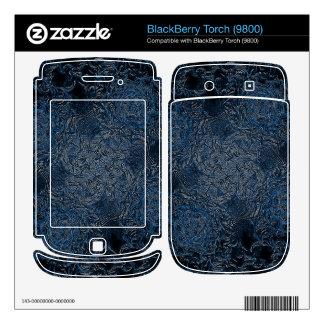 Rings of Ice BlackBerry Torch Skin