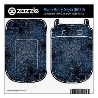 Rings of Ice Skin For BlackBerry Style