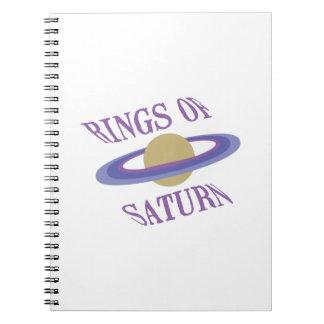 Rings of Saturn Notebook