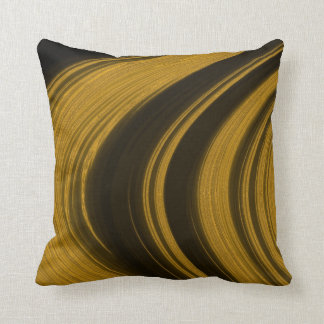 Rings of Saturn Throw Pillow