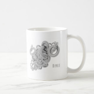 Rings of Silver Classic White Coffee Mug