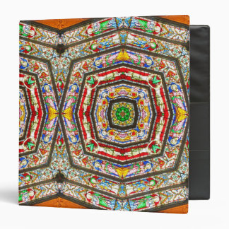Rings of Stained Glass 3 Ring Binder