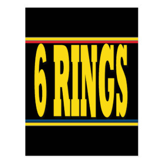 Rings Postcard