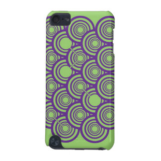 Rings (Purple/Green) iPod Touch Case