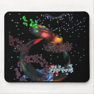RINGS  REFLECTION MOUSE MAT