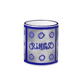 rings, rings, rings, Rings, RINGS Coffee Mug