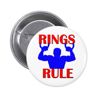 Rings Rule Pinback Button