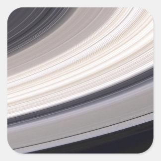Ringscape in Color Square Sticker
