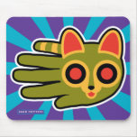 Hand shaped Ringtail Cat Mouse Pad
