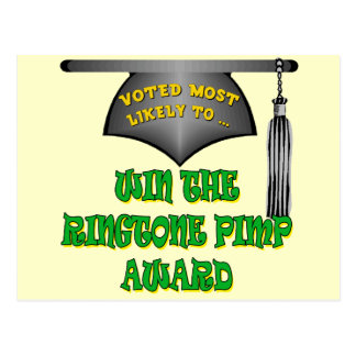 Ringtone Pimp Award Postcard