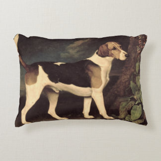 Ringwood, a Brocklesby Foxhound, 1792 Accent Pillow