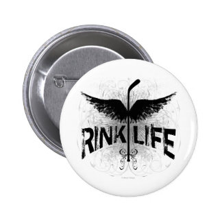 Rink Life (Hockey) Button