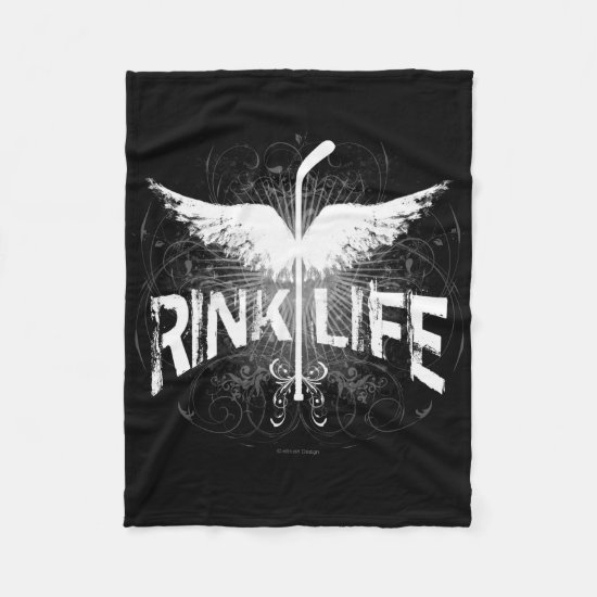 Rink Life (Hockey) Fleece Blanket