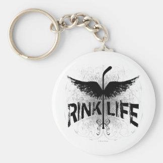 Rink Life (Hockey) Keychain