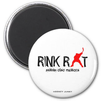 RINK RAT MAGNET