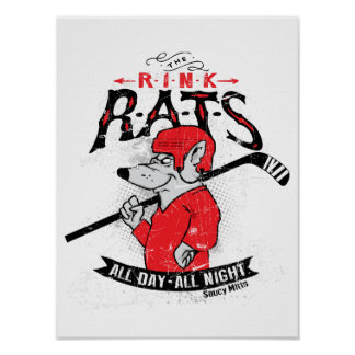 Rink Rats Hockey Poster