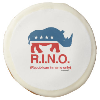 RINO - Republican in name only Sugar Cookie