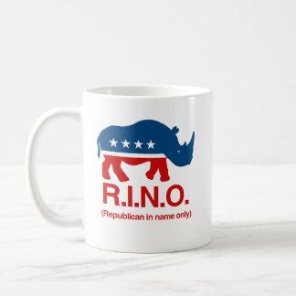 RINO - Republicano sólo de nombre .png Taza De Café