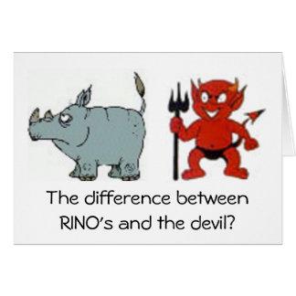 RINO Republicans Greeting Card