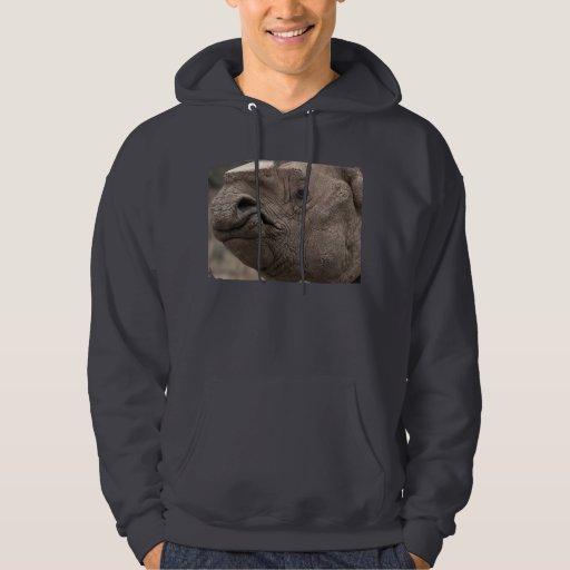 Rinoceronte 8856 suéter con capucha