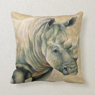 Rinoceronte blanco almohada