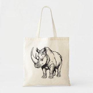 rinoceronte bolsa tela barata