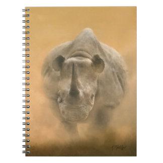 Rinoceronte de carga - pasteles libretas
