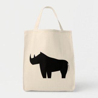Rinoceronte de los rinocerontes bolsas de mano