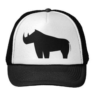 Rinoceronte de los rinocerontes gorras