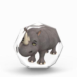 Rinoceronte del dibujo animado