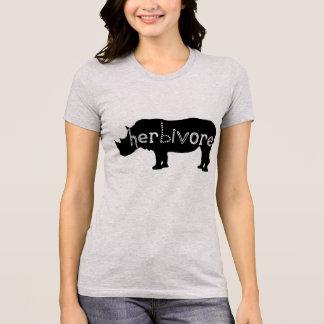Rinoceronte del herbívoro camisetas