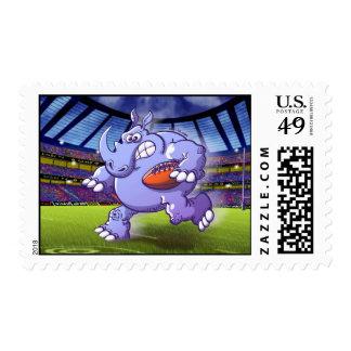 Rinoceronte del rugbi envio