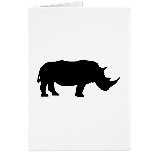 Rinoceronte Felicitacion