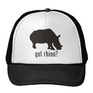 Rinoceronte Gorras De Camionero