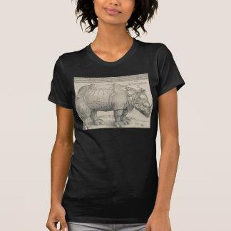 Rinoceronte, grabar en madera de Albrecht Durer Camiseta