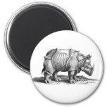 Rinoceronte Iman De Frigorífico