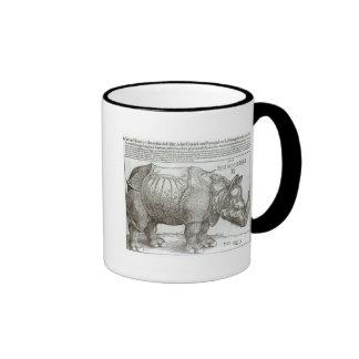 Rinoceronte, impresión dada a Maximiliano I (1459- Taza A Dos Colores