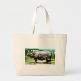 Rinoceronte indio bolsas