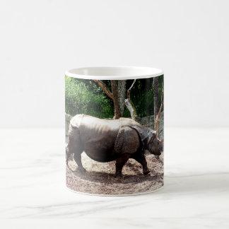 Rinoceronte indio taza
