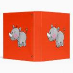 rinoceronte lindo del bebé