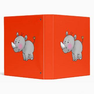 """rinoceronte lindo del bebé carpeta 1"""""""