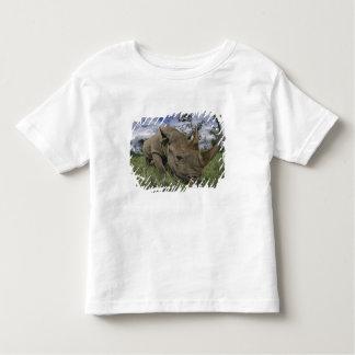 Rinoceronte negro, bicornis del Diceros, Kenia Tee Shirts