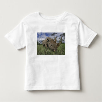 Rinoceronte negro, bicornis del Diceros, Kenia Tshirt