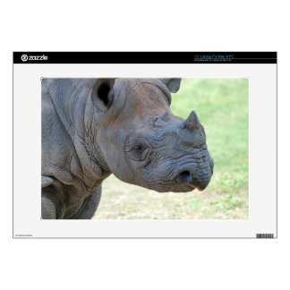 Rinoceronte negro skins para 38,1cm portátiles