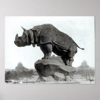 Rinoceronte Póster