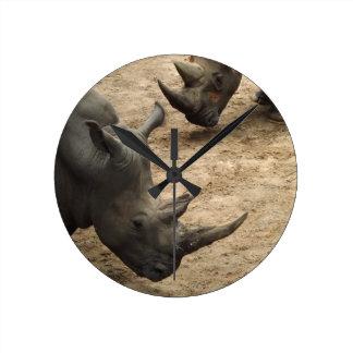 Rinoceronte Reloj