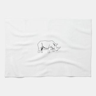 Rinoceronte Toallas De Mano