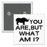 Rinoceronte usted es pins