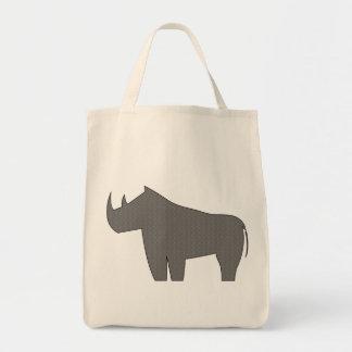 Rinocerontes - rinoceronte bolsa tela para la compra